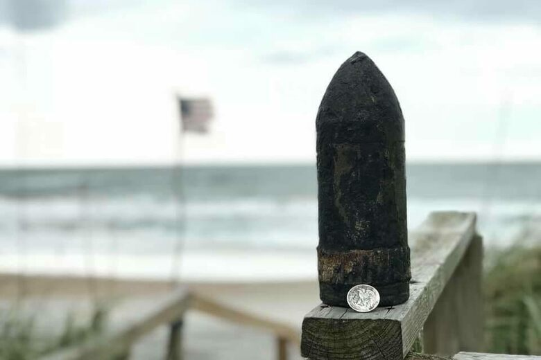 Found: Weapons From World War II, Uncovered by a Hurricane