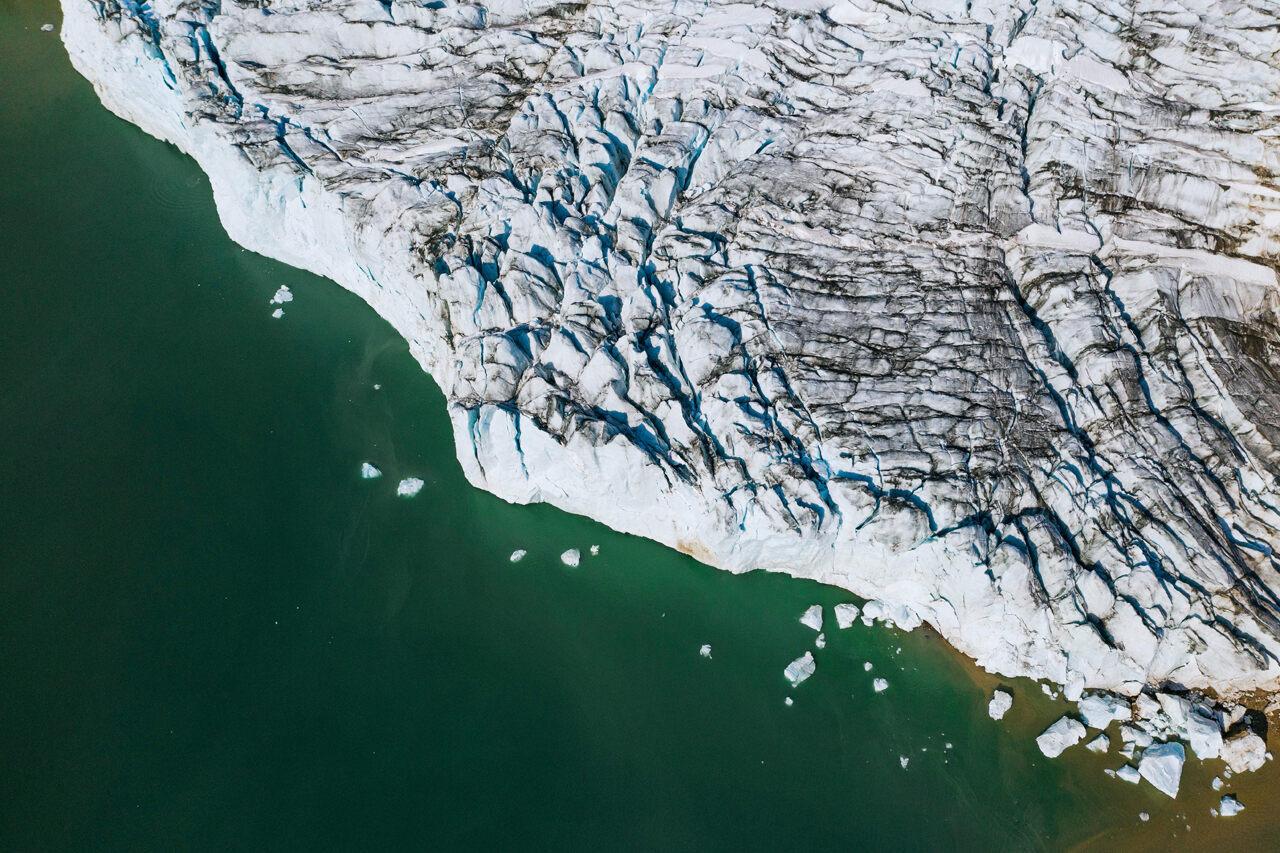 Part of Greenland, or <em>Kalaallit Nunaat</em>, the heftiest of the huge.