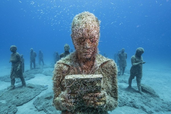 Inside the creation of europe 39 s first underwater museum for Spain underwater museum