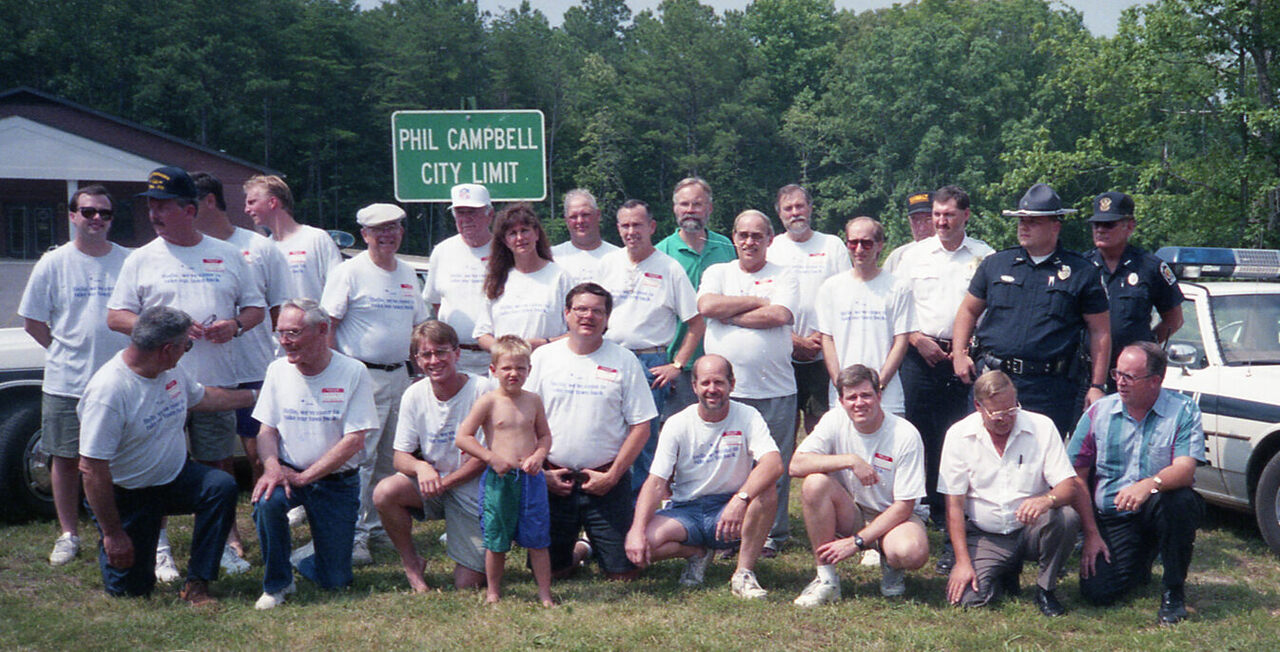 All the Phils of the 1995 Phil Campbell Convention.