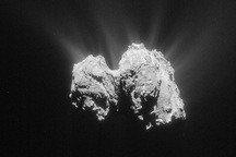 Found: Giant Boulders Delicately Balancing on Comet 67P
