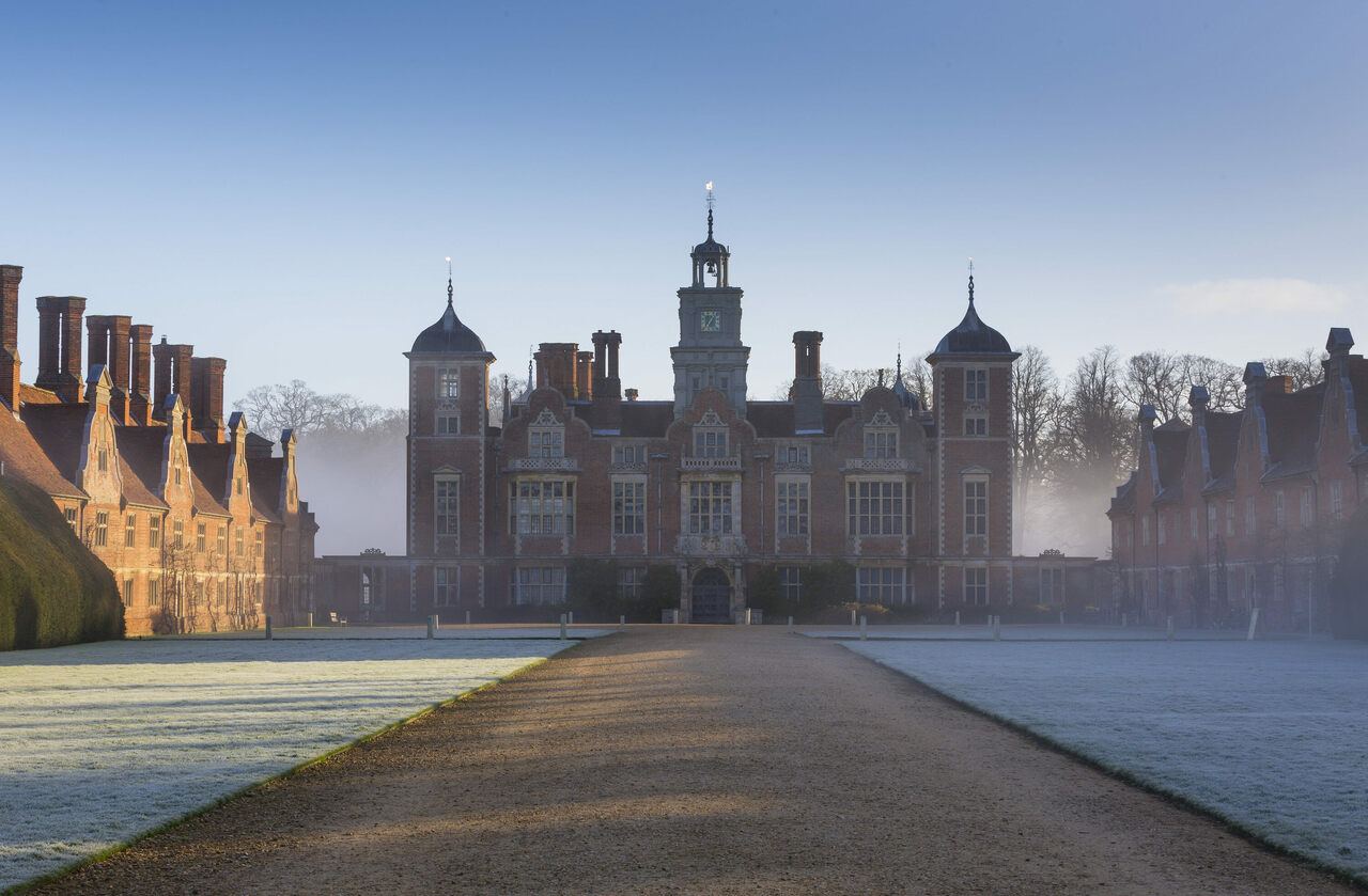 In eastern England, Blickling Hall and its historic treasures are under attack.