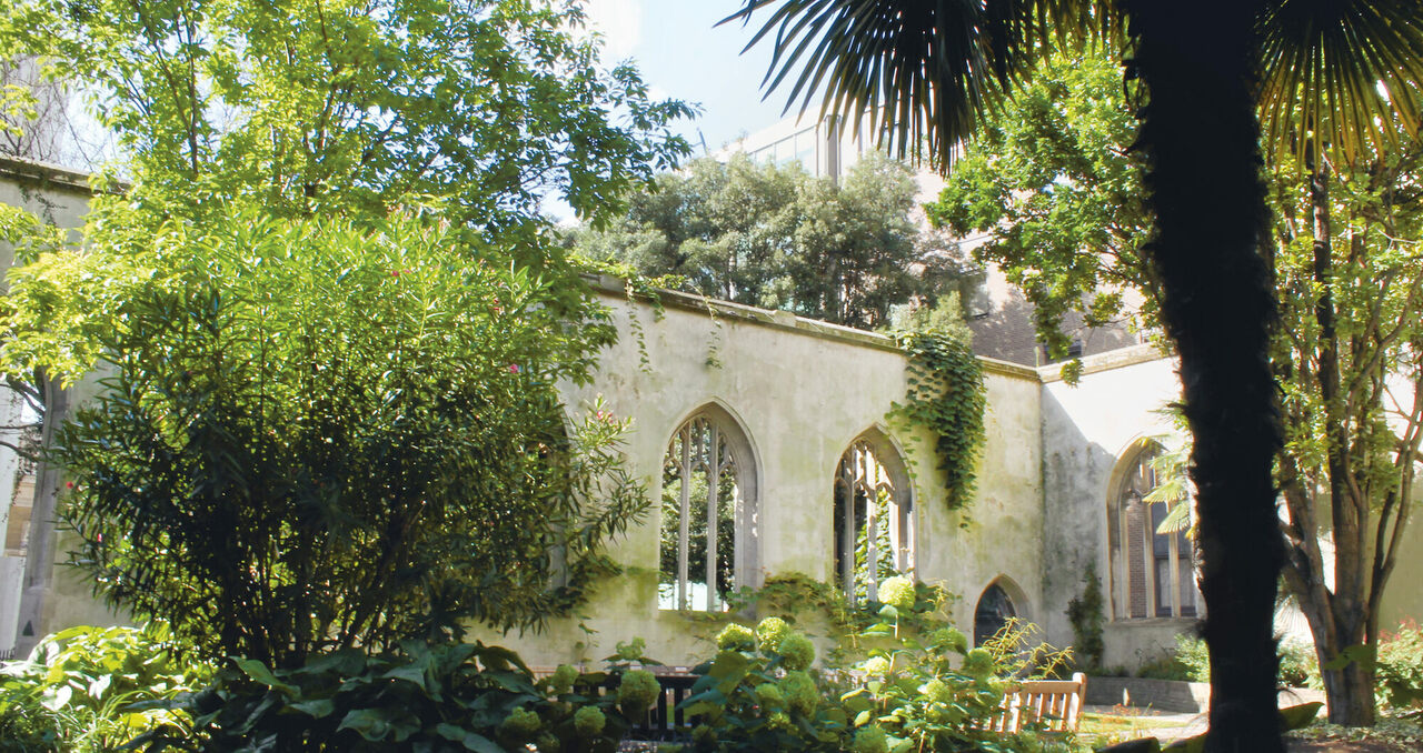 St Dunstan-In-the-East, London, U.K.