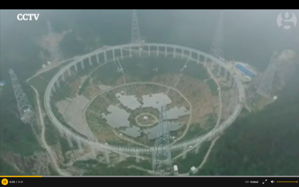 China Is Evicting Over 9,000 People to Build a Telescope for Aliens