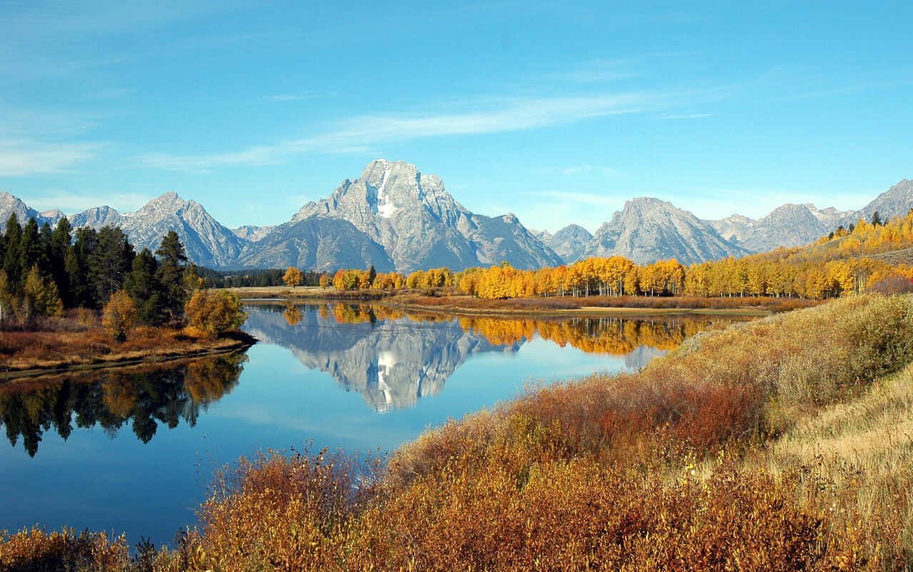 Grand Teton National Park—famed for its spectacular landscapes and its wild-game chili.