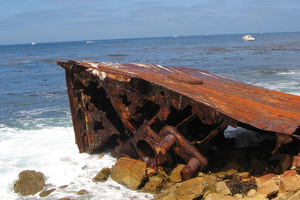 The Ship Wrecked by Wheat Forgotten on the California Shores
