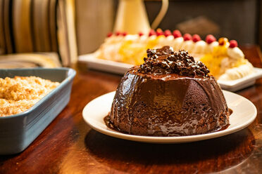 Typically, the Pudding Club serves seven puddings every Friday.