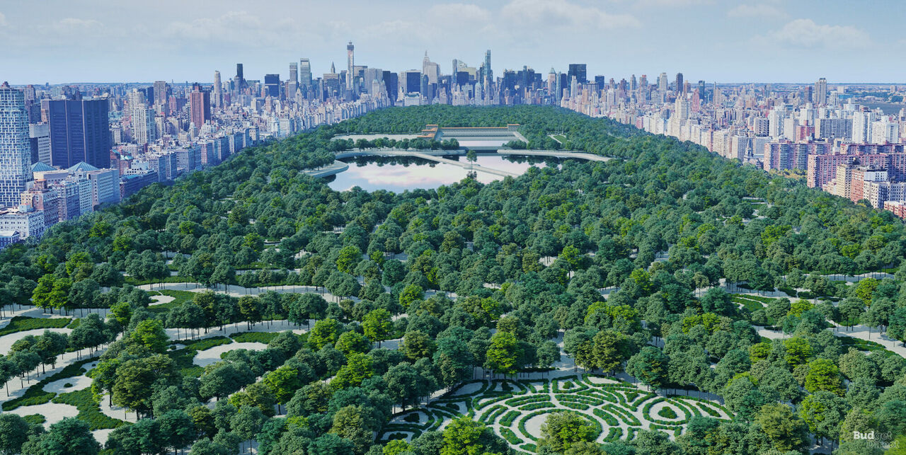 What could have been, if Central Park had been built as Rink hoped.