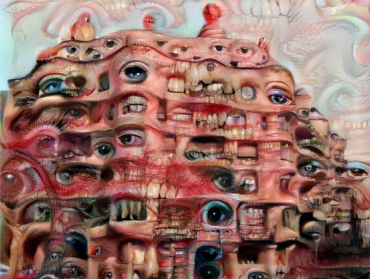 <em>Antoni Gaudí's Casa Eyes & Teeth</em>.