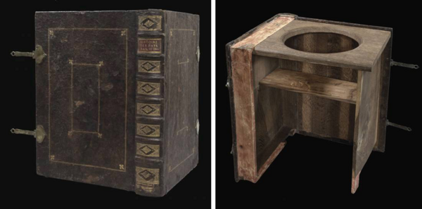 The Best 18th-Century Toilets Were Designed to Look Like Books