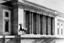 FOUND: Two Horses That Stood Outside Hitler's Chancellery
