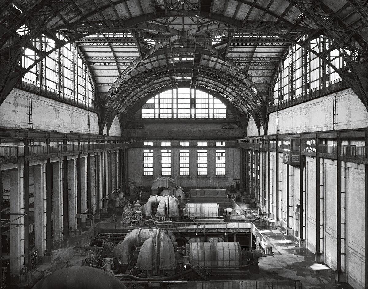 Richmond Station, Turbine Hall.