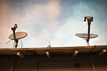 Dish Blight: The Ruins of Satellite TV Are All Around