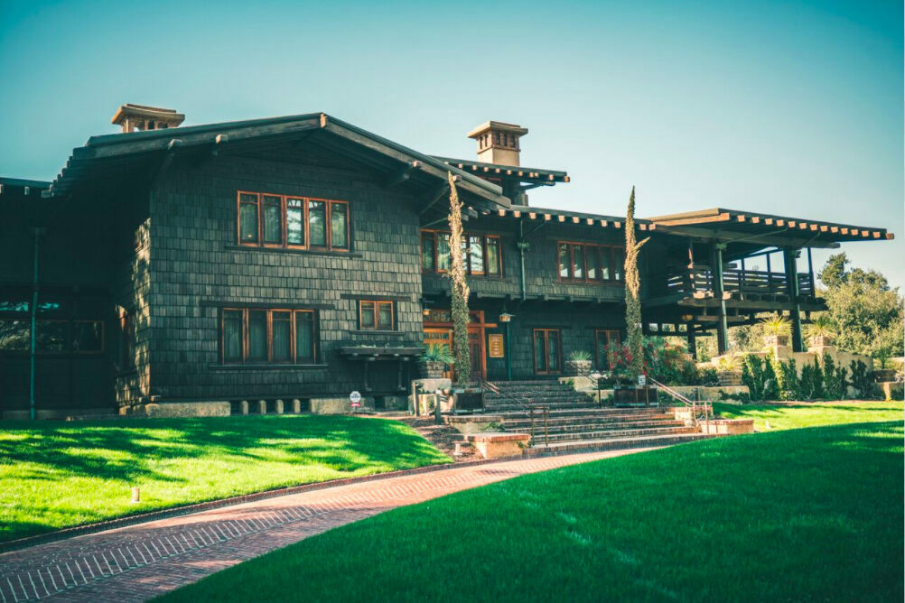The Gamble House.