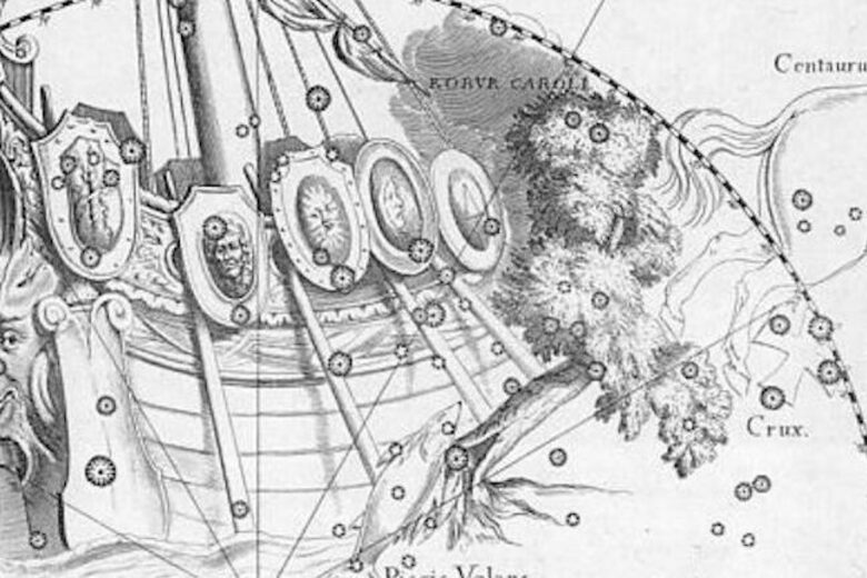 The Lost Constellation Meant to Honor a King's Escape
