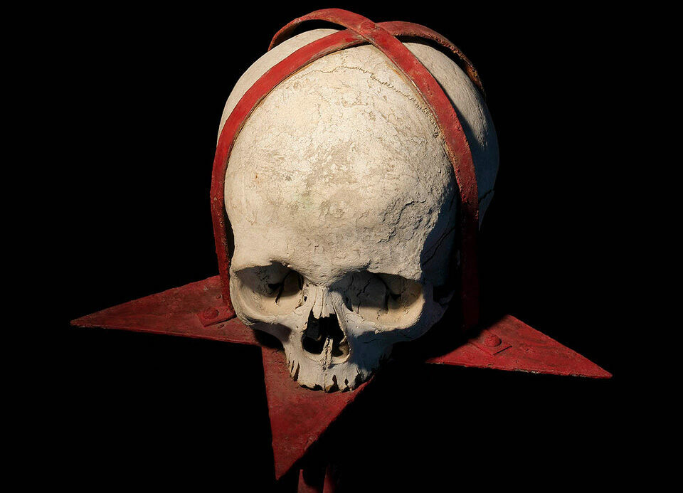 A skull used for ritual magic.