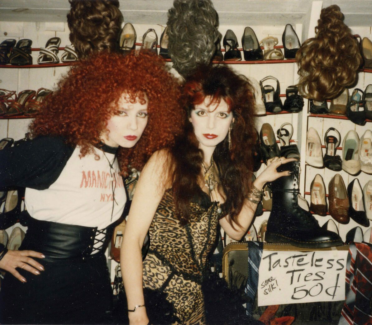 Tish and Snooky at the original Manic Panic.