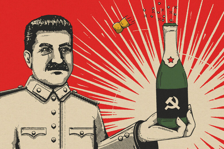 How Stalin and the Soviet Union Created a Champagne for the Working Class