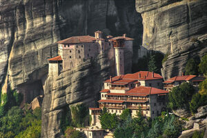 Climbing Meteora, a Dramatic World Suspended in the Sky