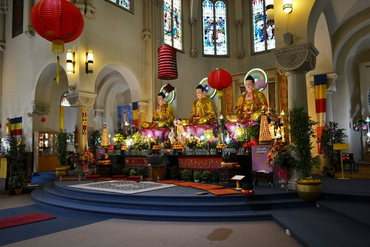 Welcome to the International Sangha Bhiksu Buddhist Association, formerly Saint Agnes Roman Catholic Church.