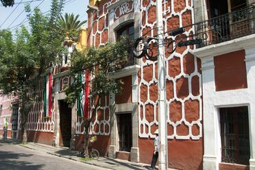 The National Sound Library of Mexico, housed in the historic Casa Alvarado.
