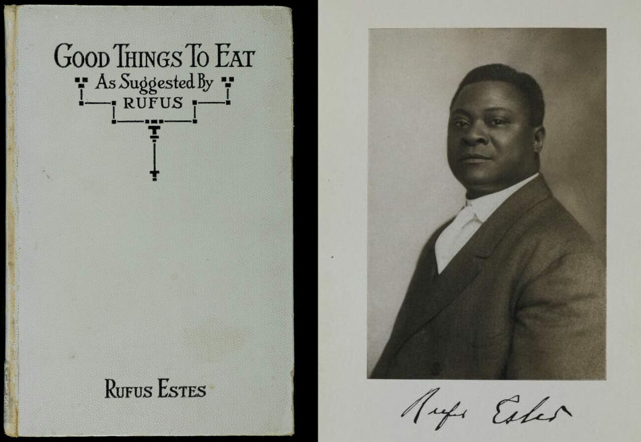 Rufus Estes's 1911 cookbook is included in Sokoh's digital library.