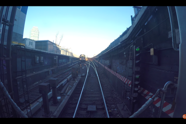 "A harrowing moment from ""The Queens-bound 7 Line."""