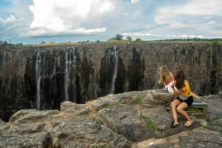 World Famous Waterfalls May Slow To A Trickle But Tourism