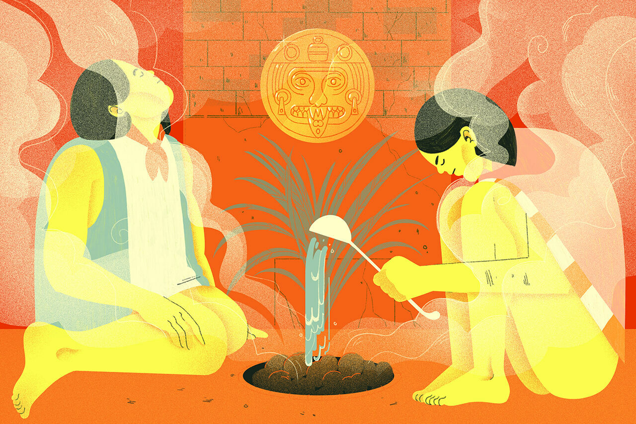 For Ancient Mesoamericans, the best way to chill was to get really, really hot.