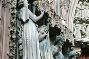 Why Figures Swarmed with Toads Lurk on Middle Ages Cathedrals