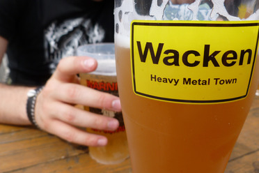 There's a lot of crossover between metal fans and beer fans.