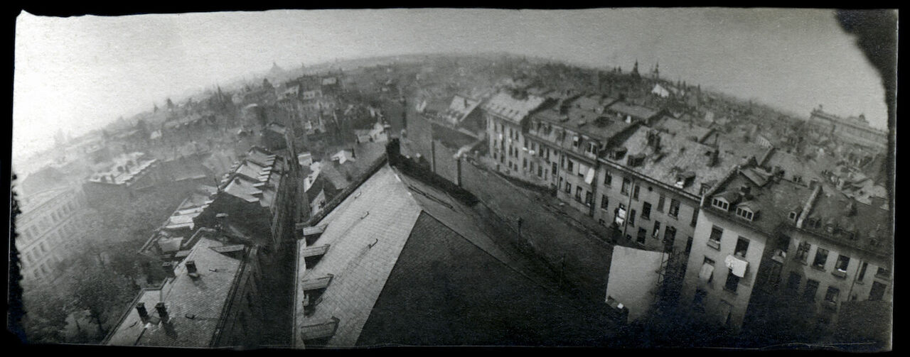 A photograph taken by one of Julius Neubronner's pigeons.