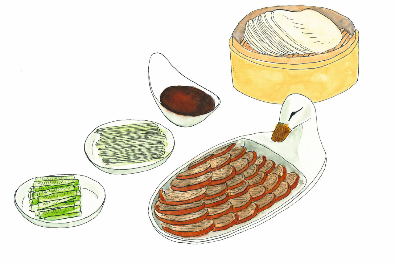 The recipe for Peking duck from Bianyifang in Beijing is still a secret.