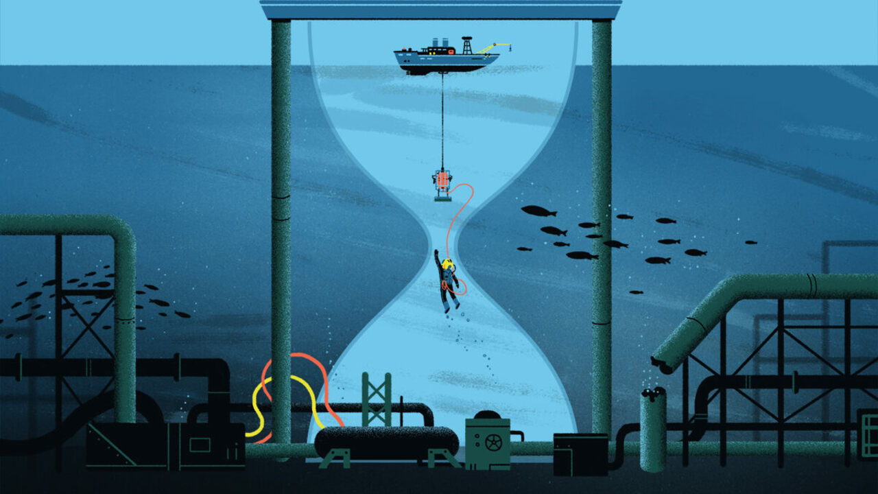 The Weird, Dangerous, Isolated Life of the Saturation Diver