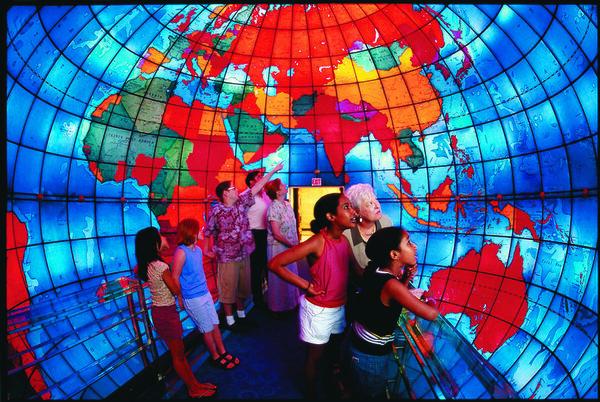 100 Wonders: The Mapparium - Atlas Obscura