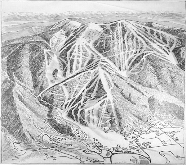 Mapmaking Taught Skiing's 'Rembrandt of Snow' the Art of Patience