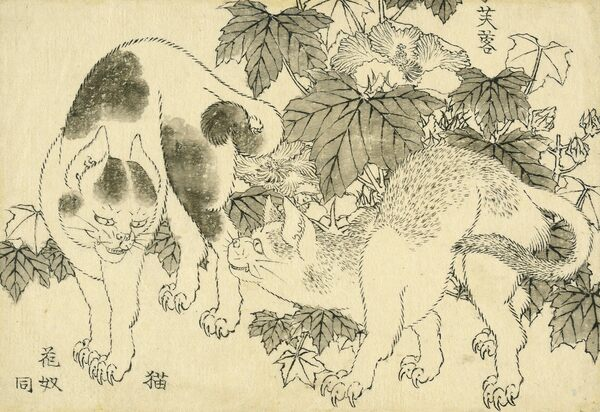 A Great Wave of Hokusai Drawings Resurfaced at the British Museum