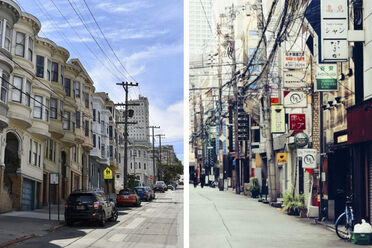 San Francisco (left) and Osaka (right) were sister cities for 60 years.