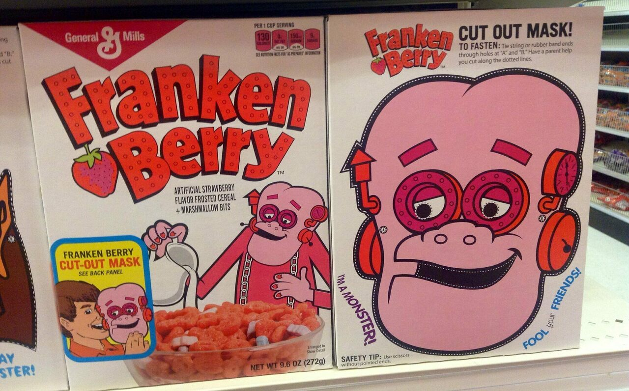 Franken Berry and the other Monster Cereals remain cult favorites.