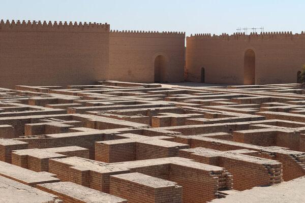 Inside the Abandoned Babylon That Saddam Hussein Built