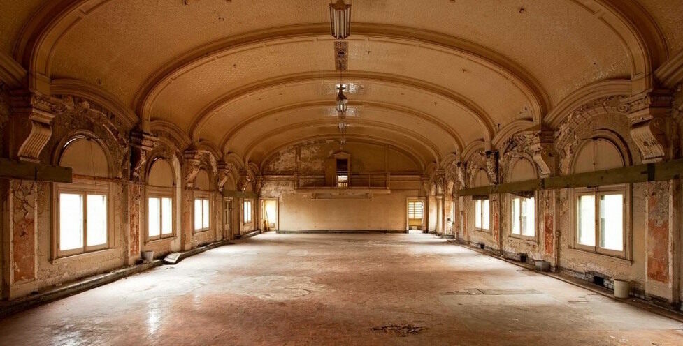 The Flinders Street Station Ballroom.