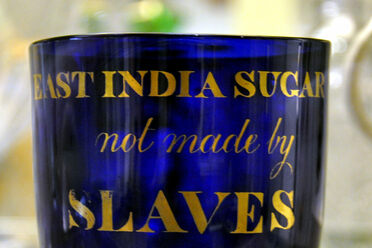 Slavery and sugar were closely linked.