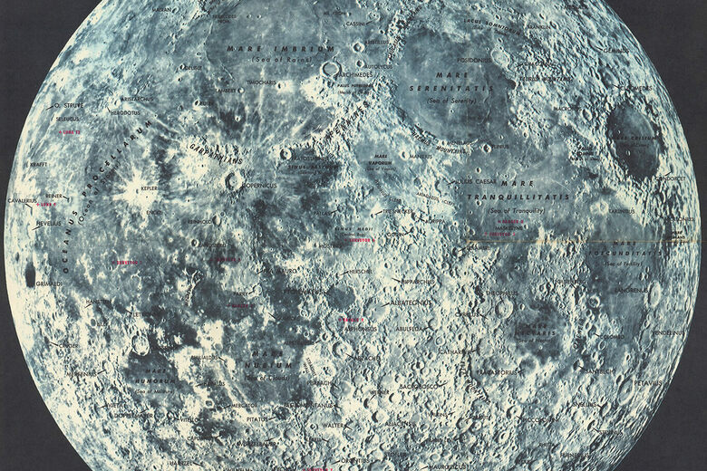 During the Space Race, Gas Stations Gave Away Free Maps to the Moon - Atlas Obscura