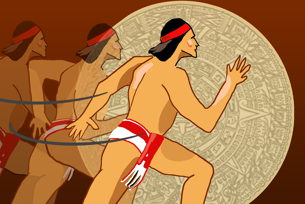 The Aztecs were a nimble bunch, whether they were delivering imperial messages or playing ballgames.