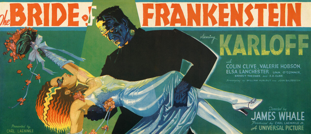 <em>The Bride of Frankenstein</em>, 1935.