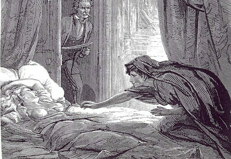 An illustration for Joseph Sheridan Le Fanu's novella, <em>Carmilla</em>. (Photo: