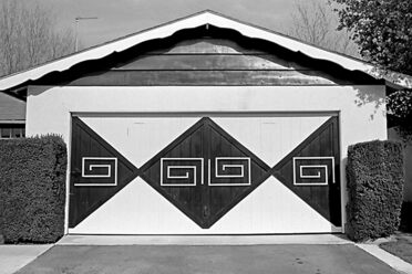 All of these garages were photographed in the early 1970s in Van Nuys, California.