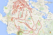 GPS Doodles Turn Your Workout Into an Art Project