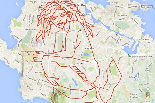 The New Field of GPS Doodle Art