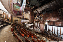 Photos of Majestic Theaters Turned To Ruin